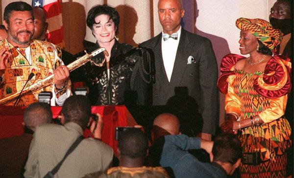 John Rawlings and Michael Jackson
