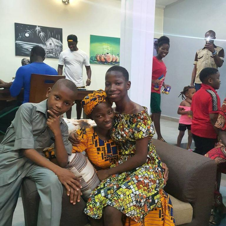 Comedian Emanuella and family