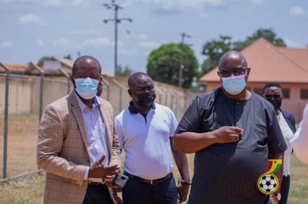 GFA President commences Zone 1 tour at Kenyase