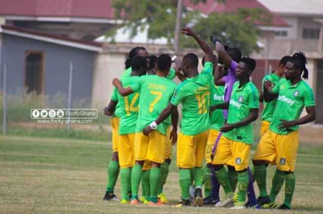 Match Report: Great Olympics 2-1 Aduana Stars, Ogya Lads fire back to stun Dade Boys in dramatic away win