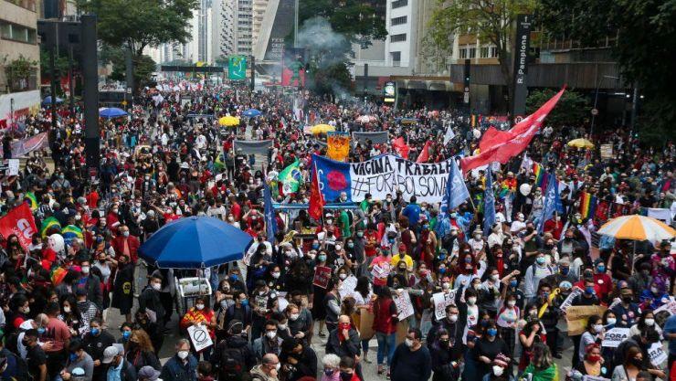 Brazil COVID Protest