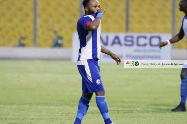 Gladson Awako vows to cement place in the Black Stars