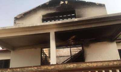 Accra Academy fire