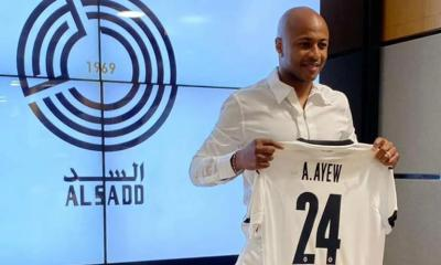 Andre Ayew is the fifth foreign player in Al Sadd
