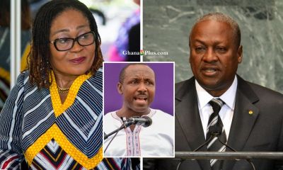 Lordina Mahama, John Mahama and John Boadu
