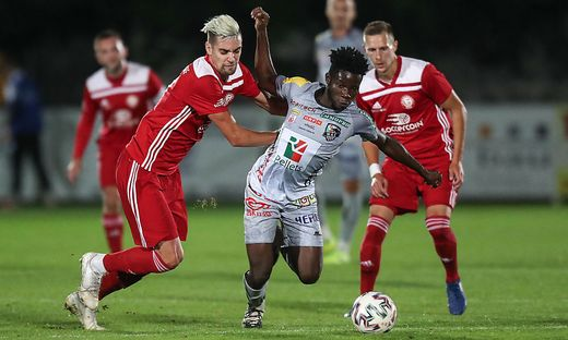 Ex-WAFA star Augustine Boakye enjoys successful debut with Wolfsberger AC