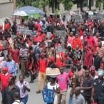 Demo: Kasoa interchange workers want Brazilians sacked