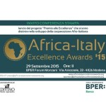 5th Africa Italy Excellence Awards to be launched in Modena