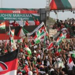Angry NDC youth on burning spree in Tamale