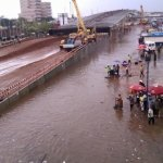 Photos: Accra floods again after hours of rainfall