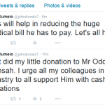 John Dumelo Shows The Way: Donates To Ailing Odoi Mensah
