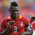 Asamoah Gyan set to miss Ghana clash with Egypt