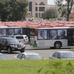 Ghana's oil cash funded Ghc3.6m bus re-branding