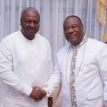 The storm will come but we'll persevere – Mahama