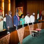 I came too early, says Buhari as he arrives FEC meeting ahead of Osinbajo, ministers