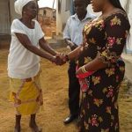 Aspiring MP Madam Abigail Mensah Shares Time With The Sick On Vals Day