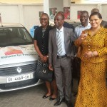 Ghana's Ambassador To France Mrs Johanna Svanikier Donates Cars To Party For 2016 Elections