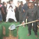 Kwasi Twum buries his mother