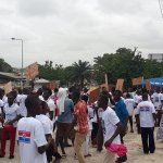 NPP Supporters Gather To Protect Nana Addo's House Amidst Raid Fears