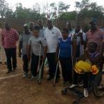 Minister of Communications Dr Edward Omane Boamah Donates To Physically Challenged