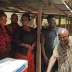 Hon. Dzifa Gomashie Mourns With The Family Of Late Actor Solomon Sampah