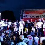Bukom Banku outdoors campaign song for Mahama
