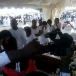 Photos: Jake goes home today; funeral underway in Accra
