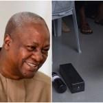 "Nov. Poll: Nkoranza Chief donates ""victory ram"" to Prez Mahama"