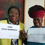 Nana Oye Lithur And Akumaa Mama Zimbi Pledge To Fight Against Child Marriages-Pics