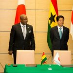 President Mahama Holds Bilateral Meeting With Japanese PM Shinzo Abe (Pictures)