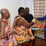 Delegation of Moree chiefs call on Vice President Amissah-Arthur