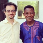 Abraham Attah calls on British High Commissioner