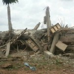 Man killed after building collapses on him