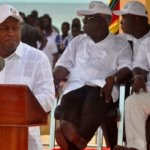 Mahama interacts with young entrepreneurs on World Youth Day