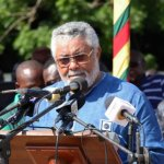 Rawlings consoles Capt. Mahama's family; calls for speedy prosecution of crimes