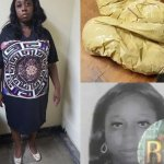 South African lady arrested with cocaine in her bra
