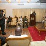 President Mahama swears in New Chief of Army Staff