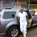 VICE PRESIDENT STORMS ELWAK IN KANTANKA CAR
