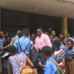 John Dumelo Storms MIM Senior High