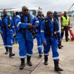 Pictures -President Mahama, Officials Of GNPC, Petroleum Minister  Etc Off To Inaugurate Oil Product...