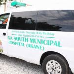 Obuobia donates ambulance, equipment to Akawe hospital