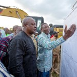 President cuts sod for construction of Tamne Dam