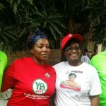 YOUNG PROFESSIONALS DONATE PARTY BRANDED T-SHIRTS TO TROBU NDC PARLIAMENTARY CANDIDATE