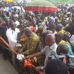 President Mahama inaugurates Community Day SHS in Volta Region