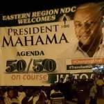 PRESIDENT MAHAMA's SUCCESSFUL TOUR OF THE EASTERN REGION FORCES DORMANT AND CLUELESS NPP REGIONAL EX...