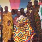 Mahama honoured as Nkosuohene at Kwahu
