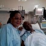 First Lady Lordina Mahama visits Jaga Pee after surgery