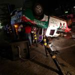 Okoe Vanderpuije's campaign car involved in an accident