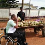 Ivor responds to Nana's Kalyppo moment with 'kube' coconut