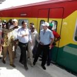 President Mahama Inaugurates First Phase Of Western Railways Rehabilitation project